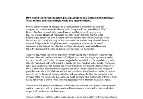 Antigone Essay Topics by Antigone Theme Essay Determination In Antigone Gcse Marked By Teachers American