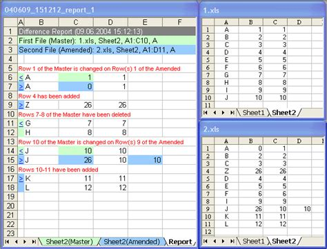Spreadsheet Comparison Tool by Excel Compare Compare Excel Files And Excel Spreadsheets