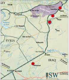 Iraq And Syria Map by Rabia Iraq Images