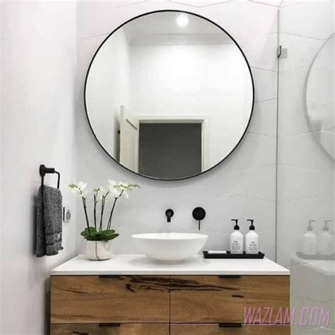large glass mirror bathroom pink bathroom accessories walmart tags large round