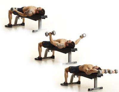 dumbel bench press the 15 best chest exercises men s health