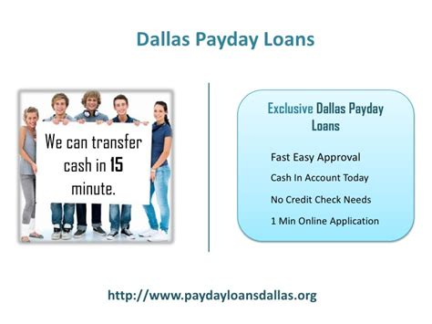 Payday Loans Today No Credit Check by Payday Loans Dallas Term Loans No Credit Check Installment Lo