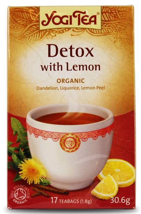 When To Detox With Lemon Yogi Tea by Handla Yogi Tea Detox Lemon Hos Svensk H 228 Lsokost Fri Frakt