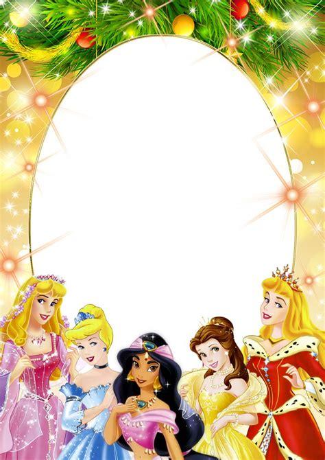 Frame Disney transparent png frame with princesses