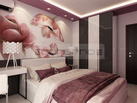 raumgestaltung schlafzimmer acherno wohndesign ideen in violett und dunkelgrau