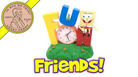 spongebob squarepants singing alarm clock with plankton