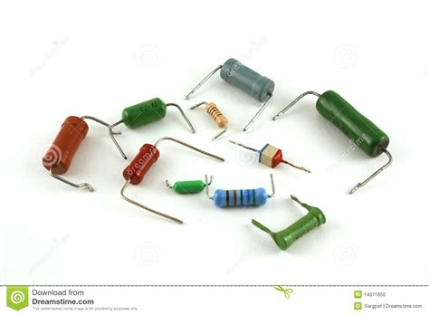 resistors electronics electronic components resistors stock photo image 14071850
