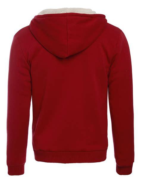 Jaket Zipper Hoddie Sweater Furrii mens fleece fur bomber hooded jacket coat zip up hoodie sweatshirt ebay