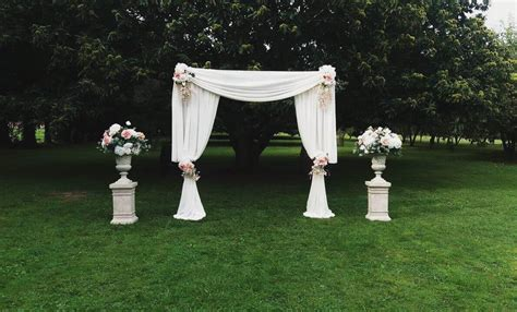 covers decoration hire wedding arch rental  covers