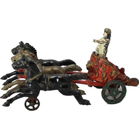 chariot wagen 1910 s hubley royal circus chariot wagon from