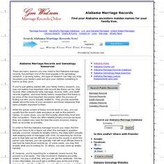 Alabama Marriage Records Search Extinct Or Renamed Counties Baine Baker Benton Cabela Cotaco Decatur