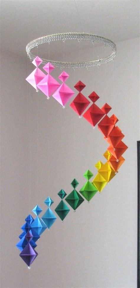 Origami Butterfly Mobile - 25 best ideas about origami mobile on diy