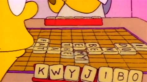 simpsons scrabble kwyjibo word scrabble asks fans to help them add to