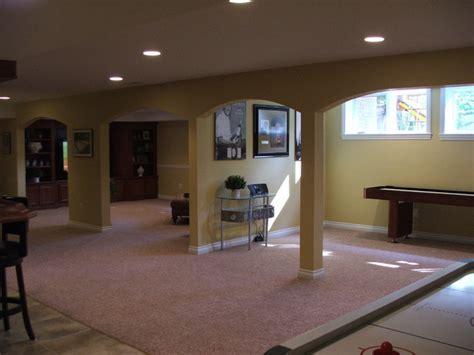 finished basement utica traditional basement detroit