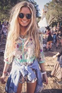 hippie style summer music festival chics boho hippie style
