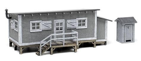 Cabin Shop Carthage Mo by Blair Line Ho Scale Joe S Cabin And Outhouse