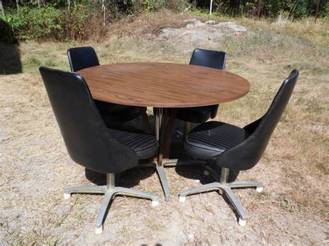 chromcraft table and chairs vintage mid century modern chromcraft dinette set dining