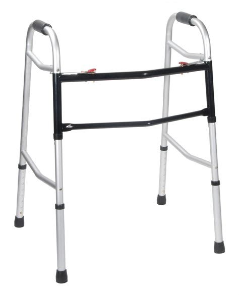Frame Walker 2 bariatric wide and deeper frame folding walker two button drive