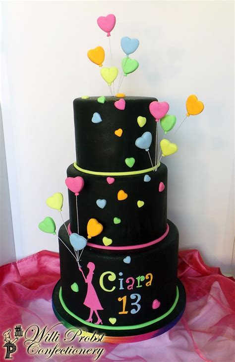 25 Best Ideas About Neon Birthday Cakes On Kotaksurat