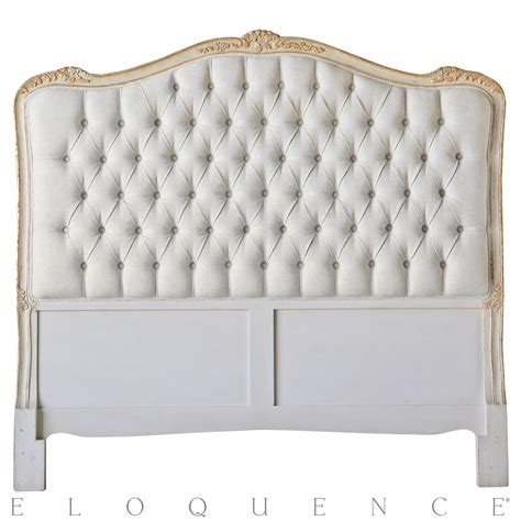 eloquence 174 headboard in gold taupe two tone