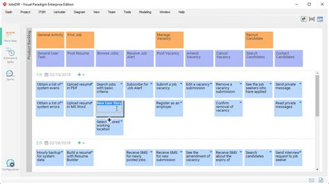 Agile User Story Mapping Software Agile Feature Template