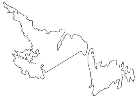 newfoundland map coloring page canada map coloring page sketch coloring page