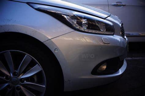 Kia Ceed Headlight New Kia Cee D 5 Door At Kia News
