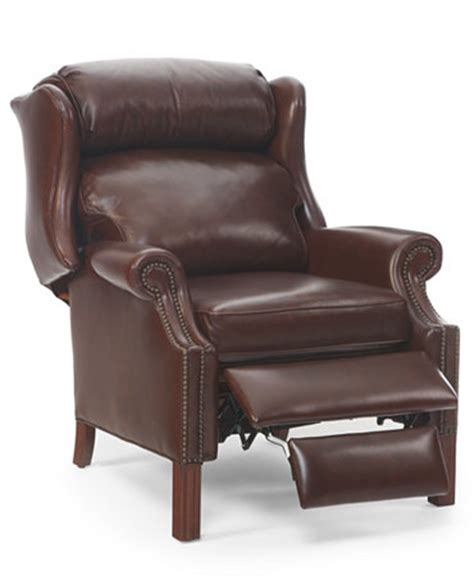 Macy Chairs Recliners by Kennedy Leather Recliner Furniture Macy S