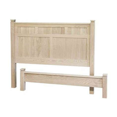 Mennonite Furniture by Metro Panel Bed Low Foot Board Lloyd S Mennonite
