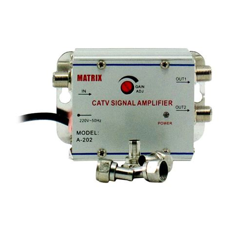 Catv Signal Lifier Penguat Signal Tv Splitter Tv Paralel 2 Tv Jual Matrix Catv Signal Lifier Penguat Sinyal Tv
