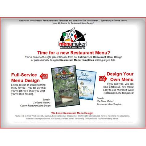 menu design generator if you need a restaurant menu template here are 11