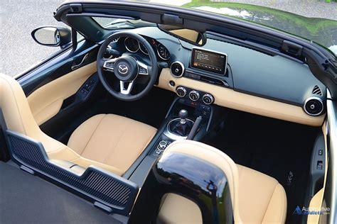 Mazda Miata Interior by 2016 Mazda Mx 5 Miata Grand Touring Review Test Drive