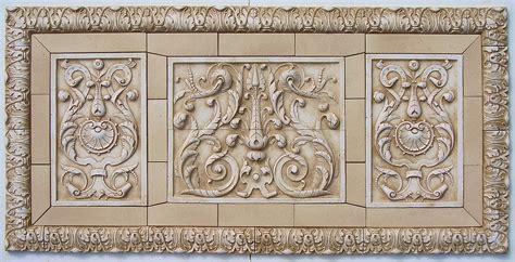 Tuscan Kitchen Backsplash Vertical Ceramic Tiles From Andersen Ceramics Handpressed