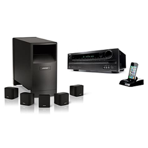bose home theater system 346838 1100 with onkyo receiver