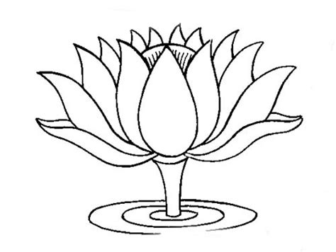 buddhist artwork line lotus symbol 2