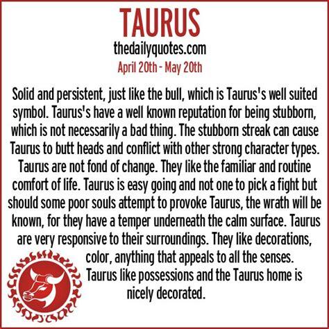 taurus quotes and sayings quotesgram