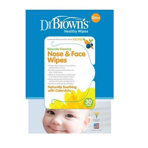 Dr Browns Nose Wipes 30 Wipestissue Bayibaby Wipes dr brown s nose wipes 30 pack 11street malaysia washcloth towels