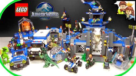 Lego City Wall Stickers lego jurassic world set amp dinosaur collection youtube