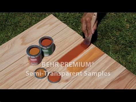 oz semi transparent stain samples youtube