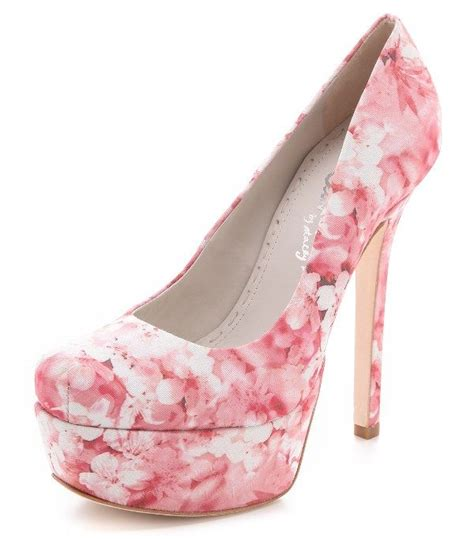 pink flower shoes and floral shoes for adworks pk