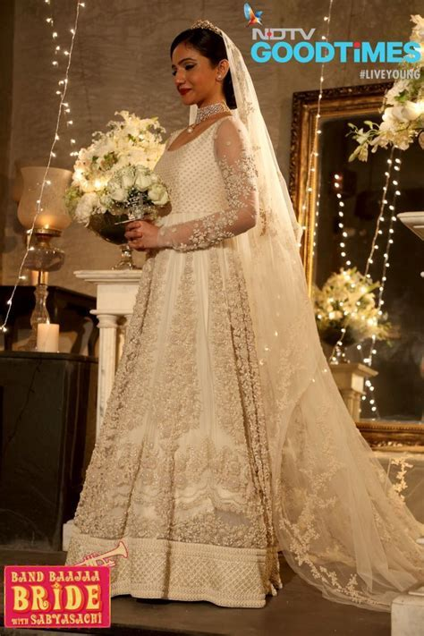 First ever Christian bride in Sabyasachi dress in Band