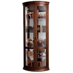 Curio Cabinets In Howard Miller Chancellor Curio Cabinet 680503