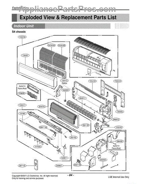 lg dishwasher parts diagram lg 6711a20128b remote controller assembly