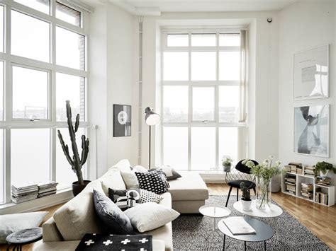 Design Windows Inspiration Decordots Airy And Light Filled Scandinavian Apartment