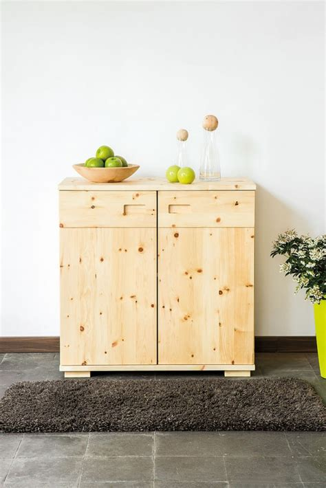 kommode zirbenholz kommoden die holzartikel manufaktur