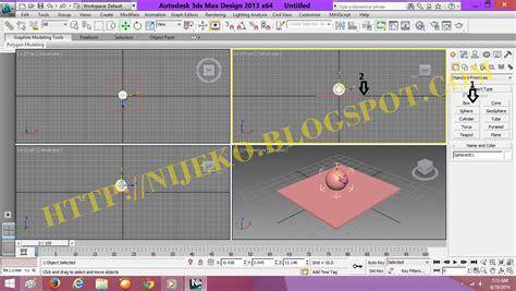 download video cara membuat gambar 3d cara membuat animasi 3d bola memantul di 3dsmax 2013