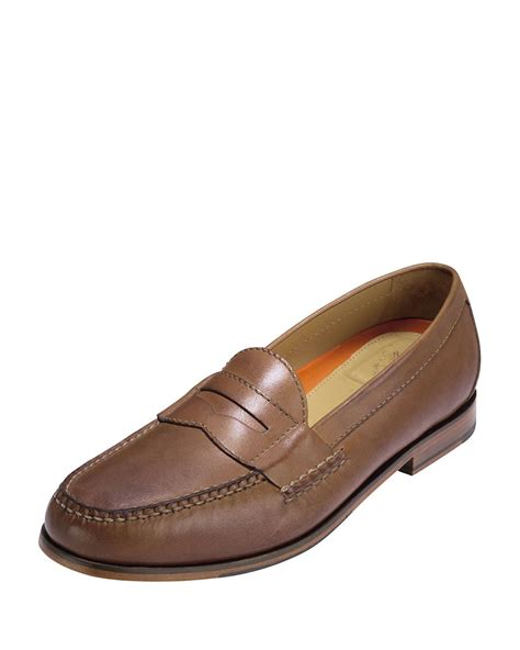 cole haan loafer cole haan pinch grand loafer in brown for lyst