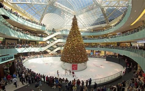 who has the biggest indoor christmas tree nation s tallest indoor tree takes root in a dallas shopping mall kera news
