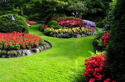 flowers gardens and landscapes nature flowers garden landscape wallpapers hd desktop