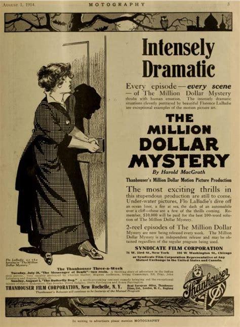 The Million Dollar Mystery the million dollar mystery 1914